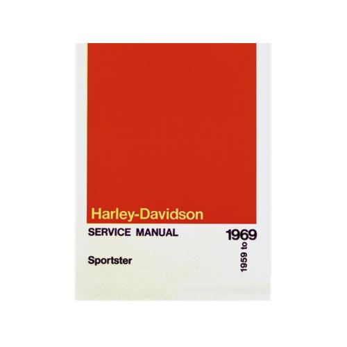 ハーレー純正 英語サービスマニュアル 1959-69年XL
