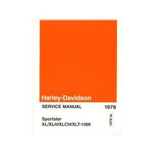 ハーレー純正 英語サービスマニュアル 1970-78年XL