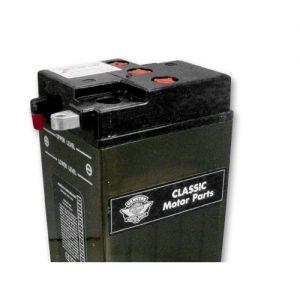 ハーレー純正 6Vバッテリー【電解液付】