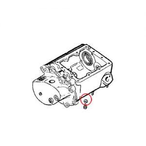 4速トランスミッション用ドレンワッシャー/66-69年オイルスクリーン