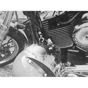 2006年以降ダイナ ダウンチューブ用ヘルメットロック