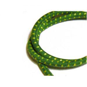 緑/黄色 ビンテージプラグコードセット