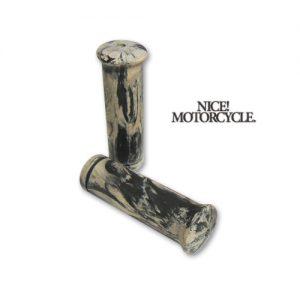 NICE MOTORCYCLE マーブルグリップ ヤレ加工