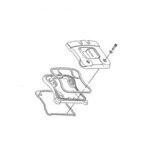 EVO/XL用 ロッカーボックススクリューセット
