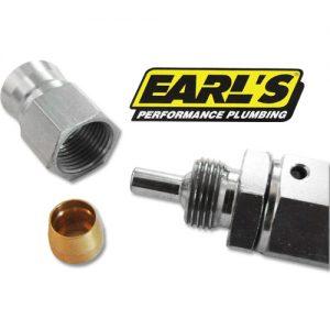 EARL'S ブレーキホースエンド 用オリーブ