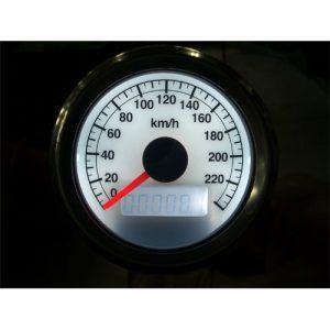 60mm スピードメーター1995年以降電気式メーター用 白