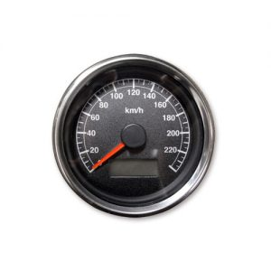 60mm スピードメーター1995年以降電気式メーター用 黒