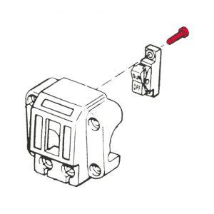 1972-81年スイッチボックス ロッカースイッチ用固定ボルト