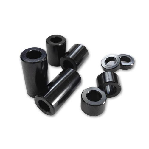 ブラックアルマイトアルミスペーサーセット