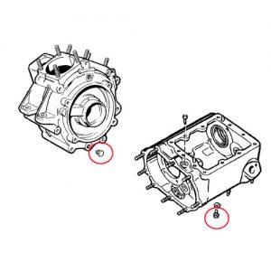 アーリーモデル エンジン/TMドレンボルト OEM700