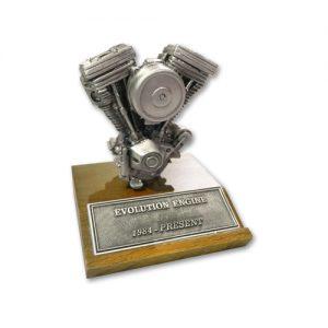 V-TWIN EVO ミニチュアエンジン 高さ8.2cm