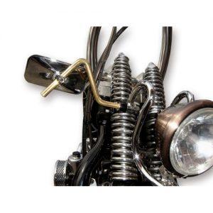 FLAMES スプリンガーフォーク用ブラスステムミラー