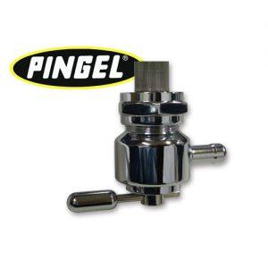 PINGEL 22mm(13/16)ラウンドタイプ ガスコック