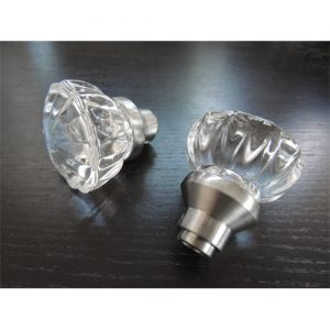 GLASS SHIFT KNOB SILVER