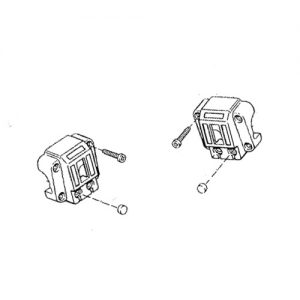 ショベル1972-81年純正スイッチボックス用 ボタンキャップ