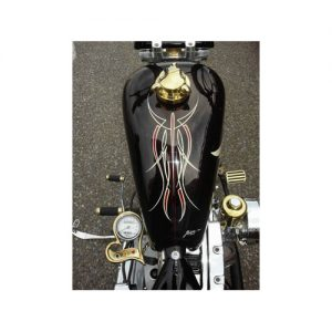 FLAME 真鍮メッキ ブレーキペダルパッド