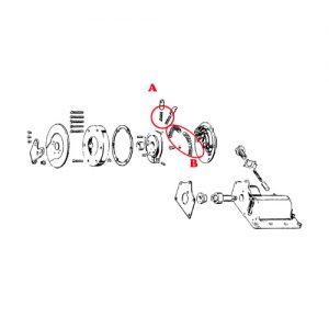 ラチェットトップ シフタースプリング 4速BT/XL