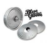 BLUE GROOVE STAR BURST WHEEL CAP