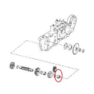 XL/Kモデル カウンターシャフトニードルベアリング