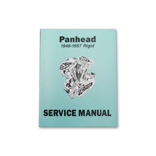 1948-57年PANHEADサービスマニュアル 英語