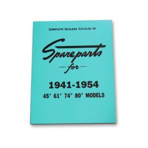 1941-54年 45/61/74/80 スペアパーツカタログ