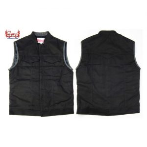 LIL JOE'S Black Magic Denim Vest Mサイズ