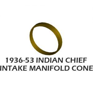 1946-53年INDIAN CHIEF インテークマニホールドコーン