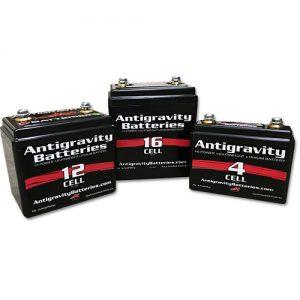 ANTIGRAVITYリチウムイオンバッテリー
