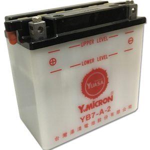 YUASA YB7-A互換バッテリー 66006-70 電解液0.65L