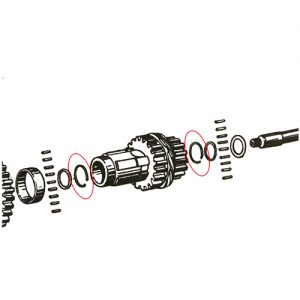 クラスターギア ベアリングリテーニングリング35920-36