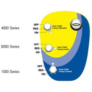 PINGEL 3/8NPT 6000シリーズ スムース/クローム
