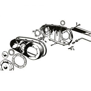 1937-54年インナープライマリーマウントキット/パーカー