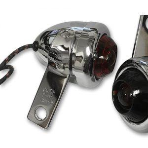 レプリカ GuideDH-49 マーカーランプ/ステータイプ/赤レンズ