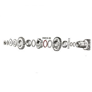 カウンターシャフト LO/2NDリテーニングリング35810-36