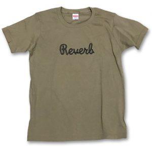 REVERB Tシャツ サンドカーキ