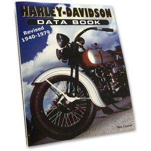 HARLEY-DAVIDSON DATA BOOK 1940-79