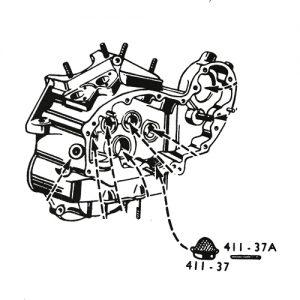 オイルストレーナー用ピン K/WL/XL/UL用