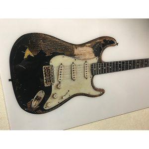 JMストラト 特大アクリルギターポスター 900x450mm