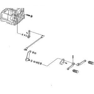 インナーシフトレバー シーソー用 FLST 90-06年