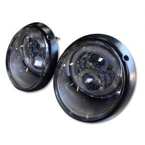 964/930用LED HEADLIGHT SILVER