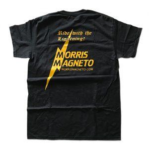 MORRIS Tシャツ Mサイズ 黒/黄