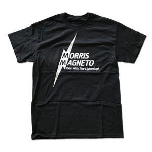 MORRIS Tシャツ Mサイズ 黒/白