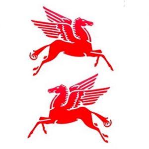 Mobil Pegasus レーシングデカールセット