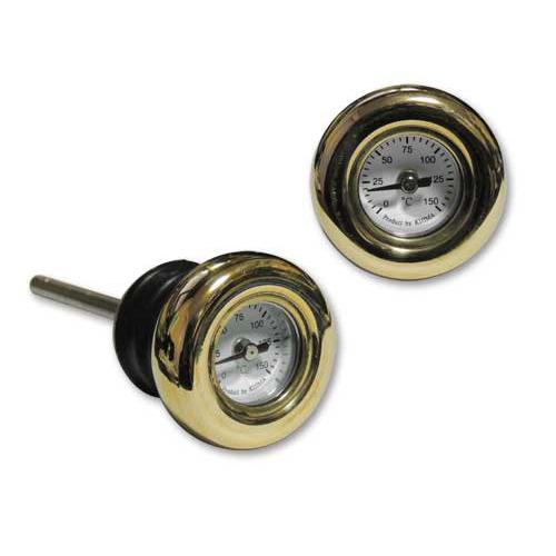 ブラスベゼル ディップスティック油温計