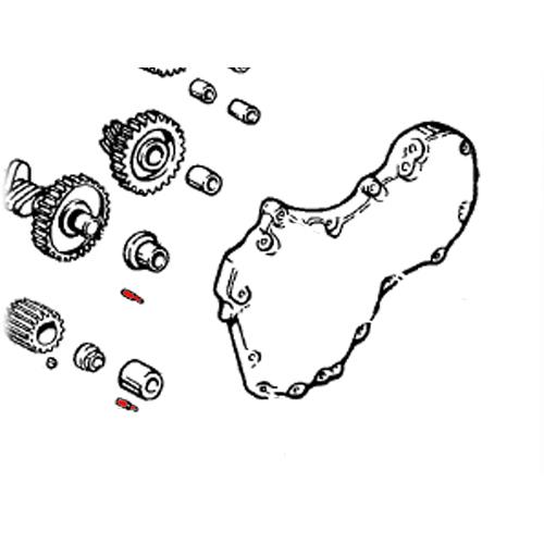 DOWEL PIN 長さ1/4径1/8 OEM271/275