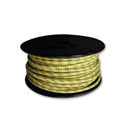 布巻きワイヤー 黄x緑