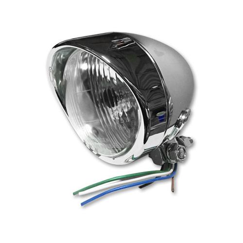 4インチ バイザー付きスポットランプ 12V60/55W