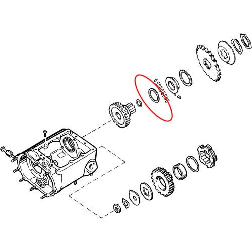 1937-77年4速ミッション ベアリングワッシャー